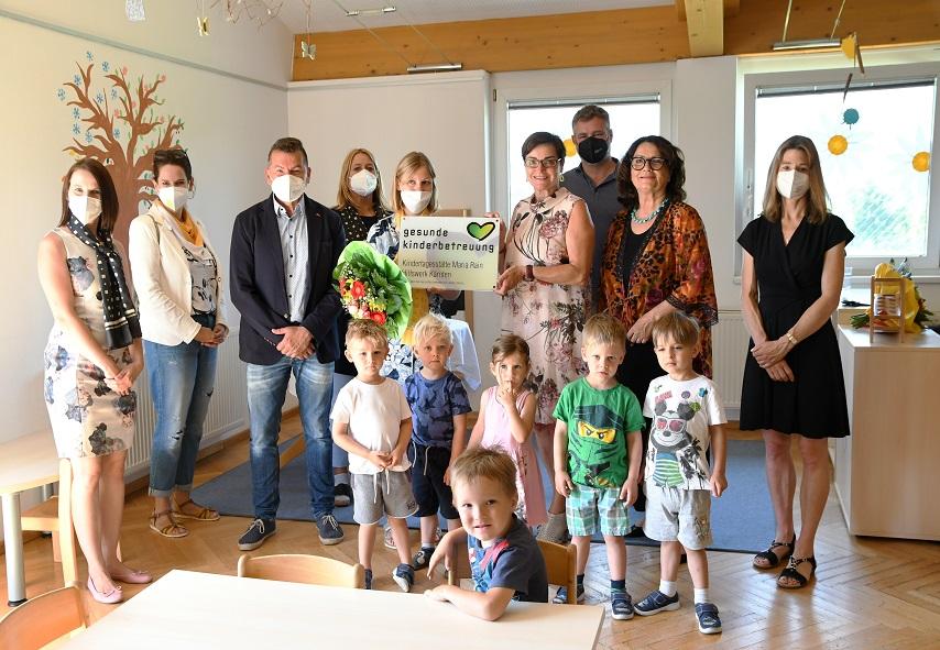 Gütesiegel für Kindertagesstätte Maria Rain