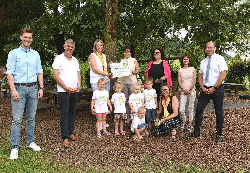 Auszeichnung für Kindertagesstätte und Kindergarten Maria Saal